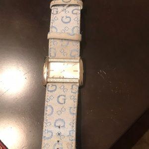 Guess blue watch